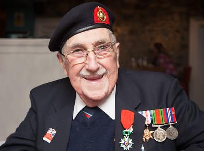 Joe Corless Légion d'Honneur