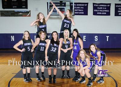 2012-13 NCS Girls Basketball Team