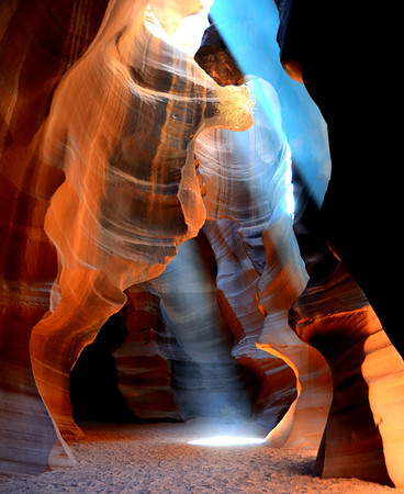 110611 - Upper Antelope Canyon - Page, Arizona