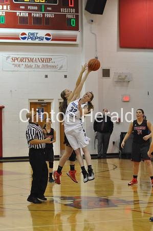 Fulton vs. Bureau Valley girls regional (2-10-15)