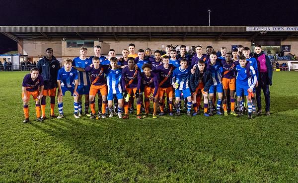 Clevedon Town FC u18 V Man City U18