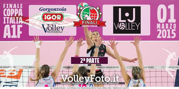 FINALE A1: Igor Gorgonzola Novara - Liu•Jo Modena (2ª Parte)