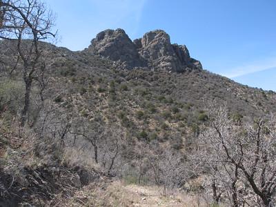 Dos Cabezas Peaks - Apr. 20, 2013