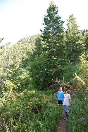 Colorado - Summer Vacation - Day 3 (Hike to Green Mountain Falls)