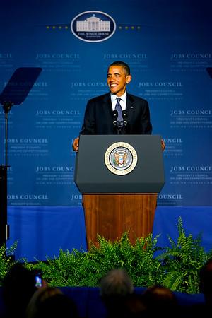 President Obama at Cree June 13, 2011