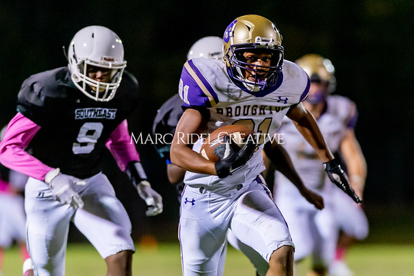 Broughton Varsity football at Southeast Raleigh. October 4, 2019. D4S_5355
