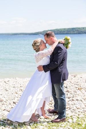 Mackinac Island Mission Point Resort Elopement Wedding