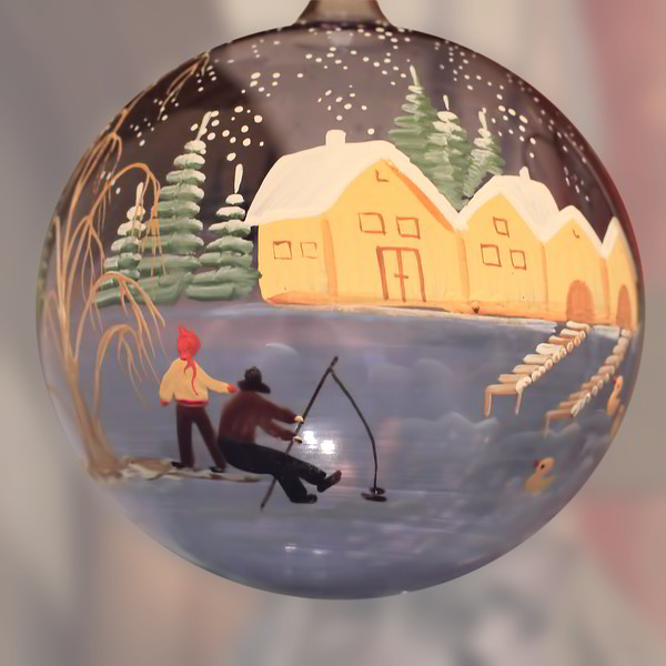 Still decorating the tree 2011-12-19  Now frozen yet here in Vienna - but finally the Alps have snow and the ski season has started.  Another hand-painted ornament. Thanks for the comments on yesterday's picture.  Yes, I am a volunteer church organist.  I haven't been paid for playing since perhaps 1964, and stopped playing for a long time.  My goal is to play as well in 2014 as I did in 1964.  The organ I play on Sundays can be seen here: http://www.jerrybarton.eu/Landscapes/Vienna/7986304_r9xtwT#782949872_GAuVp