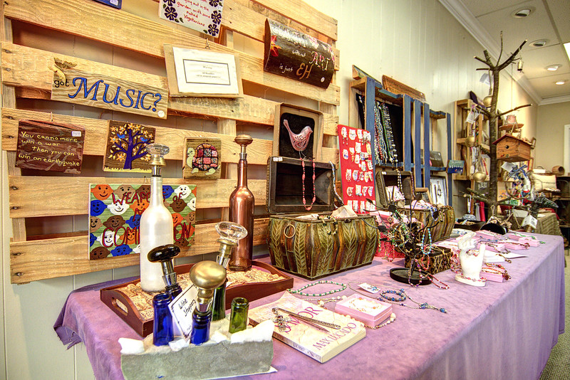Artisan crafts from around the world are sold at Handmade in Galax on Main Street in Galax, VA on Saturday, August 10, 2013. Copyright 2013 Jason Barnette