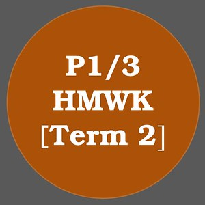 P1/3 HMWK T2