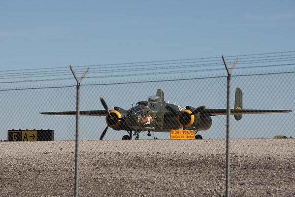 "B 25J "" EXECUTIVE SWEET "" HENDERSON EXECUTIVE AIRPORT NOV 2014"