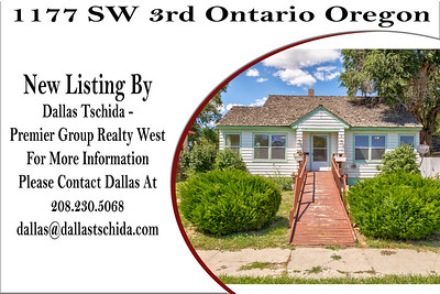 1177 SW 3rd Ontario Oregon - Dallas Tschida