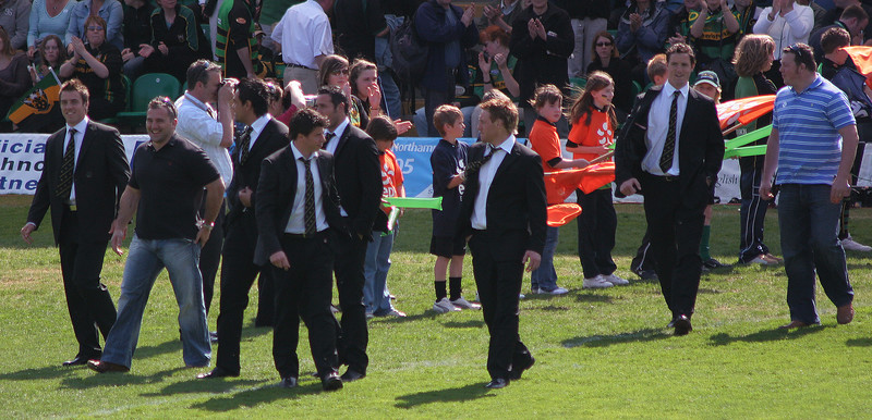 Northampton Saints vs London Irish, Guinness Premiership, Franklin's Gardens, 28 April 2007