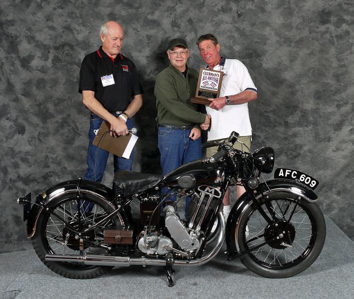 Mike Crick, Street Middleweight 1900-1945,Production. 1934 Matchless D80 Sport