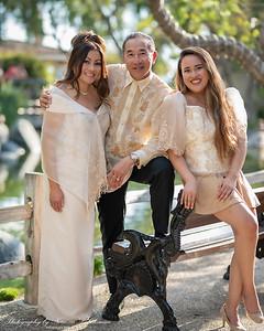 Tony, Joyce, and Alyssa Photoshoot