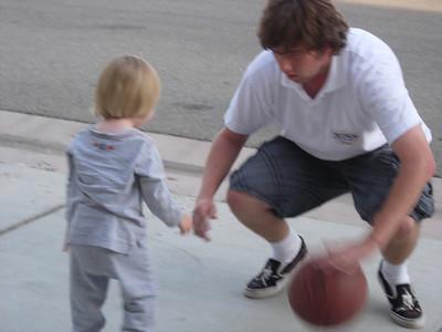 Max & The Kids Playing Basketball