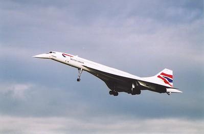 Concorde Finale at Edinburgh Airport