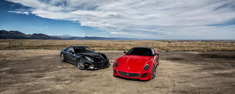 Ferrari F12 & 599 GTO