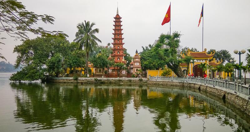 Hanoi de Tran-Quoc pagode