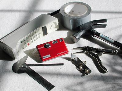 Cellphone Made into a Cameraphone