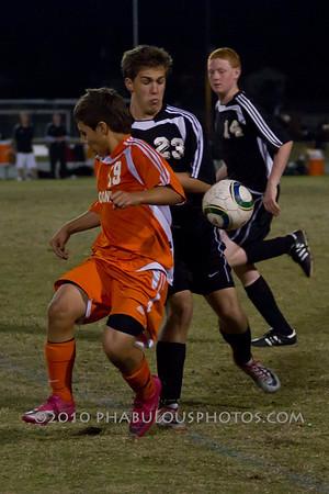 Seminole @ Boone Boys JV Soccer - 2011