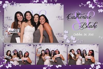 Catherine & Blake's Wedding (Mini Open Air Photo Booth)