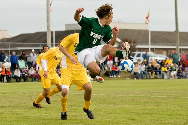 men's soccer cac championship - 11/3/07