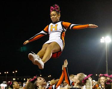 Varsity Cheer at Mount Vernon Footbal Game 10/5/18