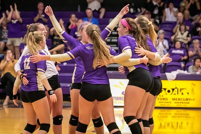 Defiance College Volleyball 09-17-2019
