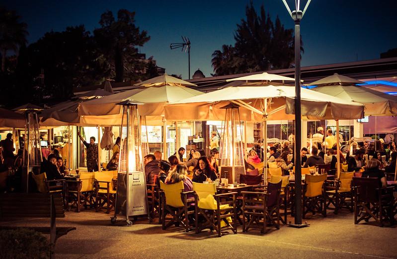 Cafe in Limassol Park