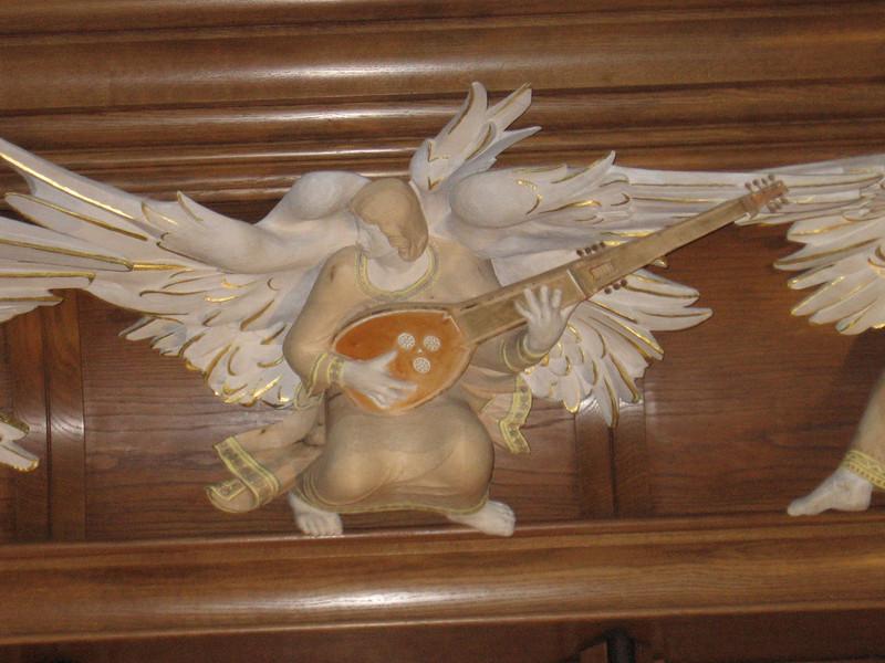 Angel Musician, Bath Abbey, Bath