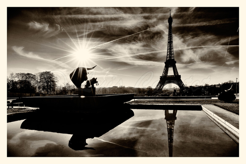 Sunrize over Eiffel