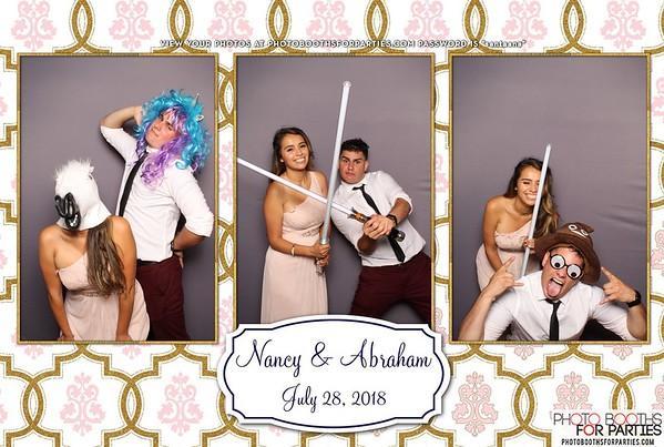 Nancy and Abraham's Wedding