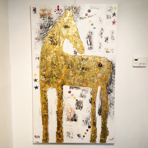 Palomino at gallery.jpg