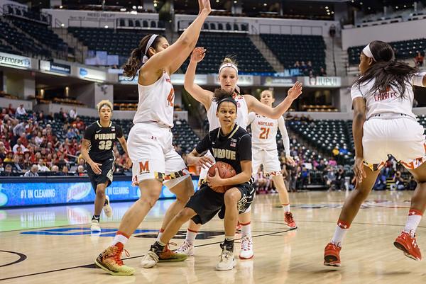 3/5/17 Big Ten Tournament, No. 4 Maryland 74, Purdue 64