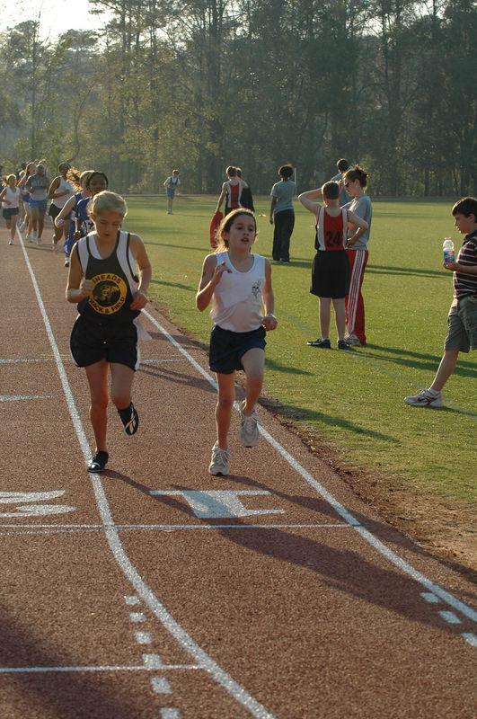 1:29 Merina Allen at 400m to go.
