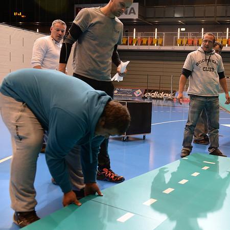 Verlegung Volleyballboden