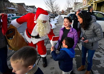 Photos: Donated Christmas Decorations For Child in Erie
