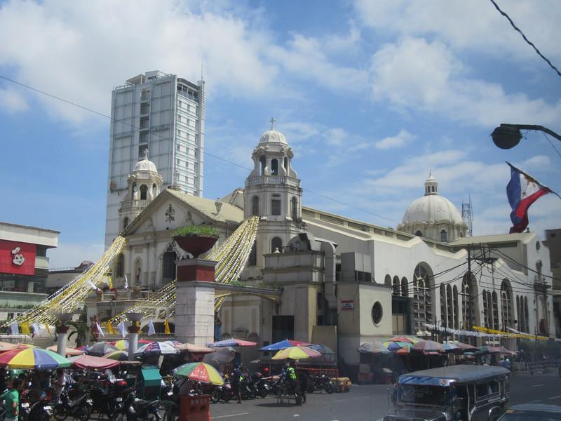 014_Manila's Central District. Quiapo Church. The Pilgrimage Church of the Black Nazarene.JPG