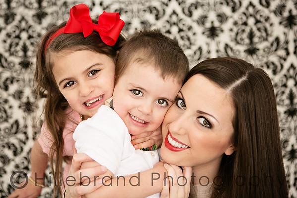 Liz & Kids Valentine's Session
