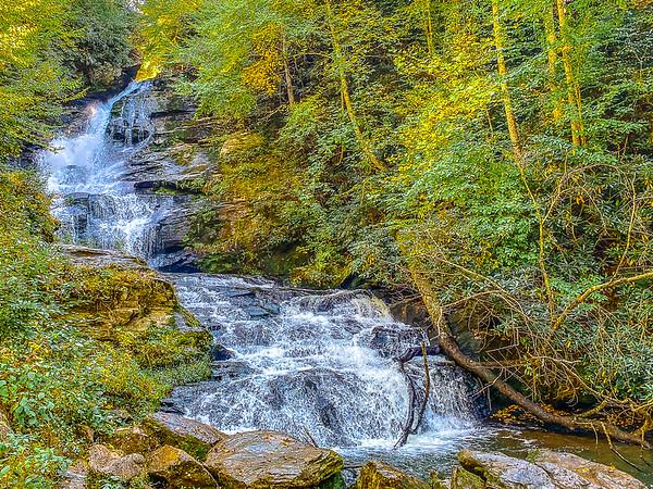 Mud Creek Waterfalls - 10-7-20