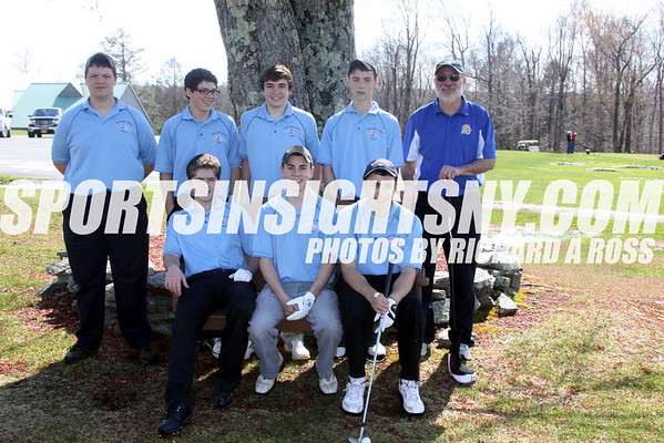 Tri-Valley vs. Sullivan West and Fallsburg Boys Golf