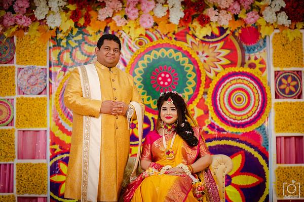 Arnob & Mayeesha Holud