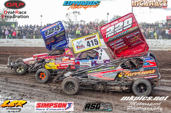 BriSCA F1 Stockcars, Northampton 27 October