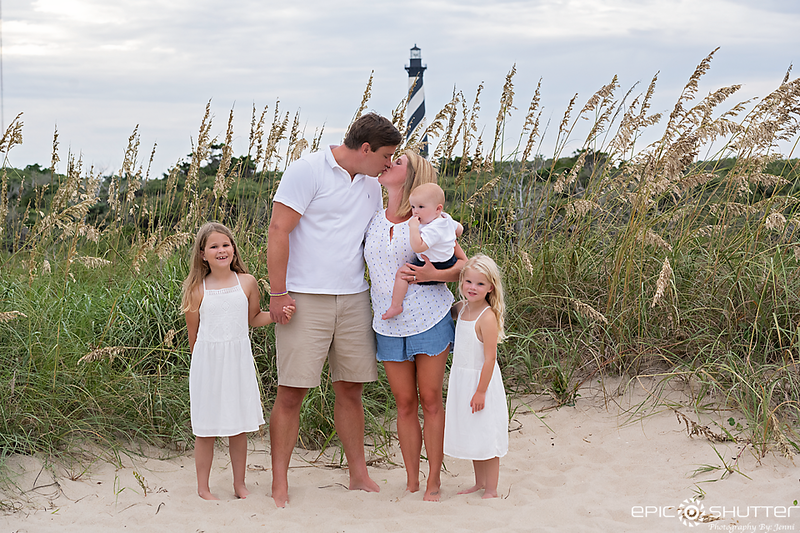 Lighthouse Family Portraits, Hatteras Family Photographers