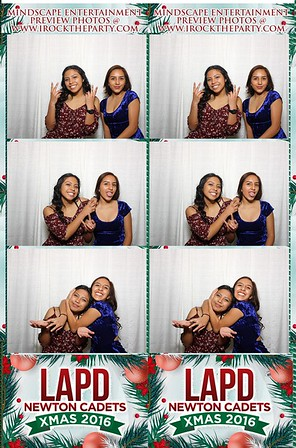 Newton LAPD Cadet X mas Party - Photo Booth Pictures