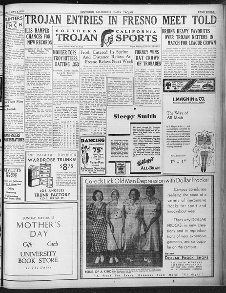 Daily Trojan, Vol. 23, No. 140, May 06, 1932