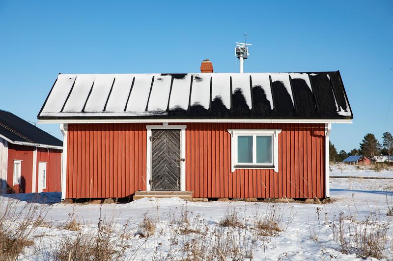Fishing hut at Marjaniemi