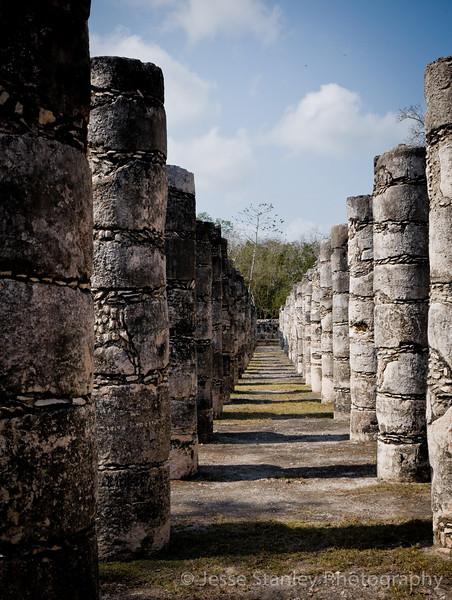 Group of a Thousand Columns, Chichen Itza
