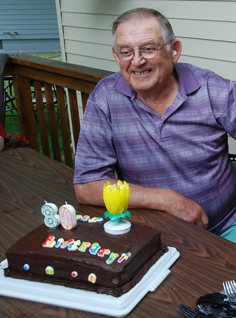 Dad's  August 80th birthday